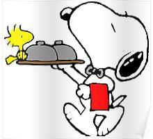Bellboy Snoopy Poster
