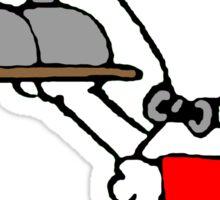 Bellboy Snoopy Sticker