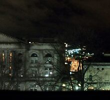 Nighttime Panorama by Stephanie Fay