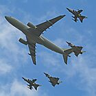 Queens Birthday Flypast 3 - London 15.06.2013 by Colin J Williams Photography