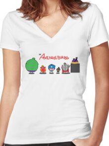 The Avengebirbs Women's Fitted V-Neck T-Shirt