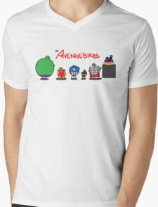 The Avengebirbs Mens V-Neck T-Shirt