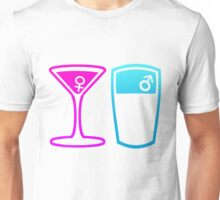 Cocktail or a pint? Unisex T-Shirt