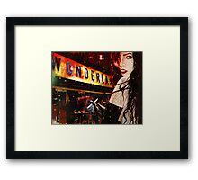 Chelsea ( I Don't Want To Go To) Framed Print