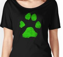 Noir Paw Women's Relaxed Fit T-Shirt