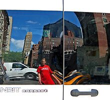 Transit Reflection of NYC 1136 by KarenDinan