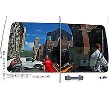 Transit Reflection of NYC 1136 Photographic Print