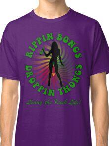 Rippin Bongs-1 (solid) Classic T-Shirt