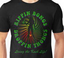 Rippin Bongs-2 (outline) Unisex T-Shirt