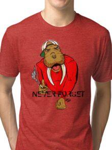 Slap the walrus Tri-blend T-Shirt