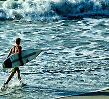 SURFER DUDE by vincentphoto