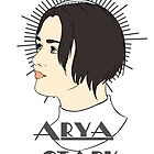 Arya Stark by CatAstrophe