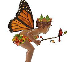 Autumn Fairy by redqueenself