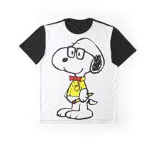 Nerd Snoopy Graphic T-Shirt