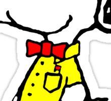 Nerd Snoopy Sticker