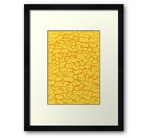 Mac and Cheese Framed Print