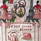 """Paris """" chez Tante Jeanne """"  My Creations Artistic Sculpture Relief fact Main 54  (c)(h) by Olao-Olavia / by Okaio - caillaud olivier"""