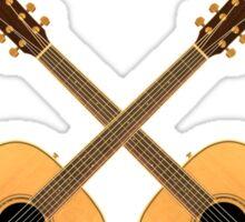 Beautiful Acoustic Guitars Sticker
