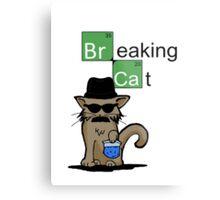 Breaking Cat  Metal Print