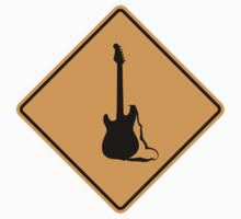 Electric Guitar Sign by SignShop