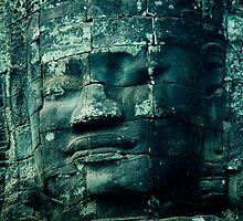 Faces of Bayon by KerryPurnell