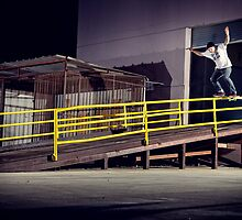 Jaime Thomas - Boardslide by asmithphotos