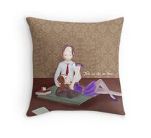 Tale as old as time.... Throw Pillow