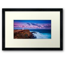 Cape Nelson Lighthouse - Dusk Framed Print