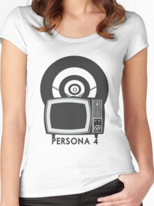 Persona 4 Women's Fitted Scoop T-Shirt