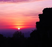 Siem Reap Sunrise  by KerryPurnell