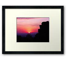Siem Reap Sunrise  Framed Print