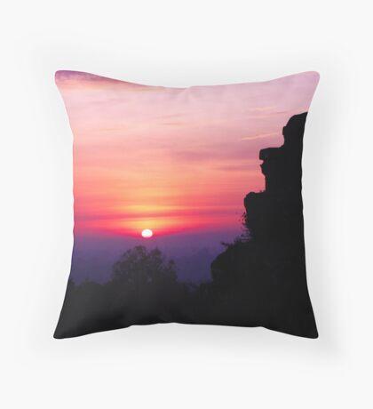 Siem Reap Sunrise  Throw Pillow