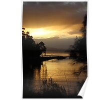 Bruny Island sunset  #9279 Poster