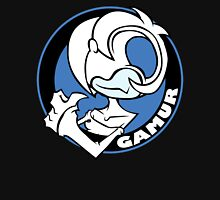 Gamur Gurl Logo Blue Unisex T-Shirt