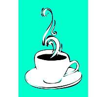 coffee curls Photographic Print