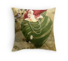 Happy friend Throw Pillow
