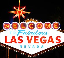Las Vegas Sign		 by SignShop