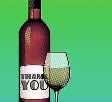 thank you wine by maydaze
