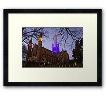 Blue Cathedral Framed Print