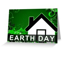 earth day green home Greeting Card