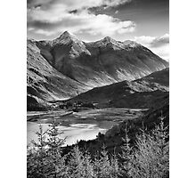 The Five Sisters of Kintail, Highland, Scotland Photographic Print