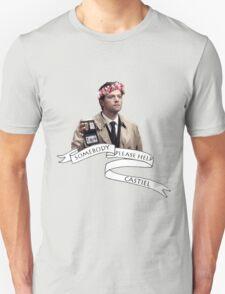 Somebody help Castiel Unisex T-Shirt