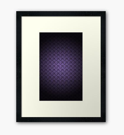 Wall Paper Pattern  Framed Print