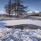 Loch Tulla Frozen by Brian Kerr