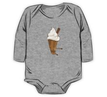 Dalek Ice-Cream a Summer Time Lord Treat One Piece - Long Sleeve