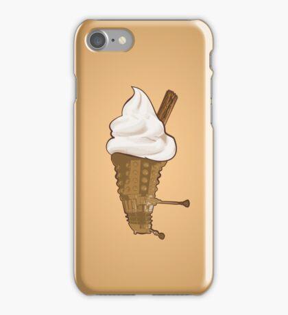 Dalek Ice-Cream a Summer Time Lord Treat iPhone Case/Skin