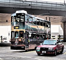 a streetcar named desire ...unique public transport in Hong Kong by LoveDutchArtEbs