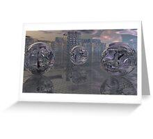 A Salisbury Ice Storm-version2 Greeting Card