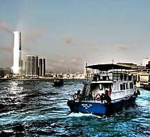 water and sky Hong Kong   by LoveDutchArtEbs