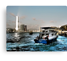 water and sky Hong Kong   Canvas Print